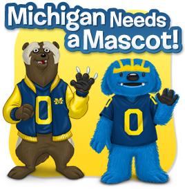 Vote for the new Michigan mascot!